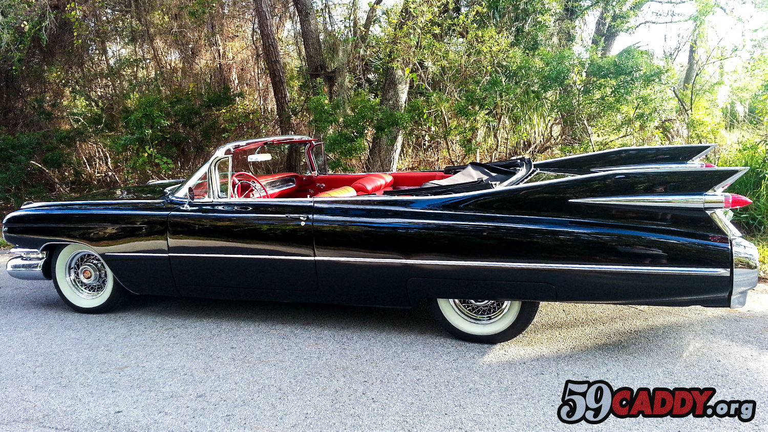Black 1959 Cadillac Convertible For Sale Black 59 Caddy 1959 Black Cadillac Series 62 Convertible For Sale