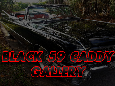 Black 1959 Cadillac Convertible 1959 Black Cadillac Convertible